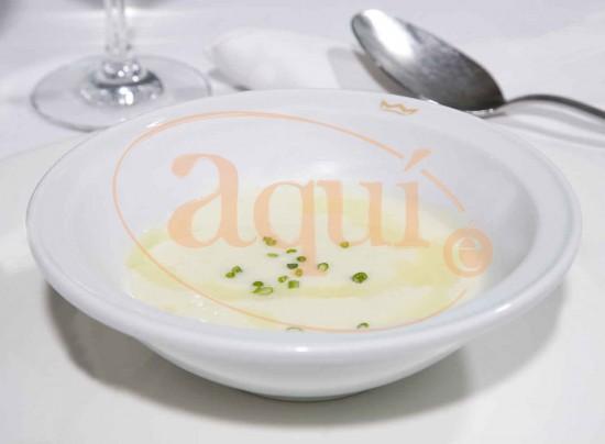 Crema Parmentier (puerro y patata)