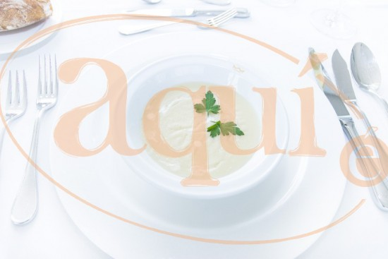 Crema Vichyssoise (de patata y puerro)