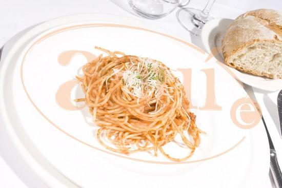 Espaguetti con atún