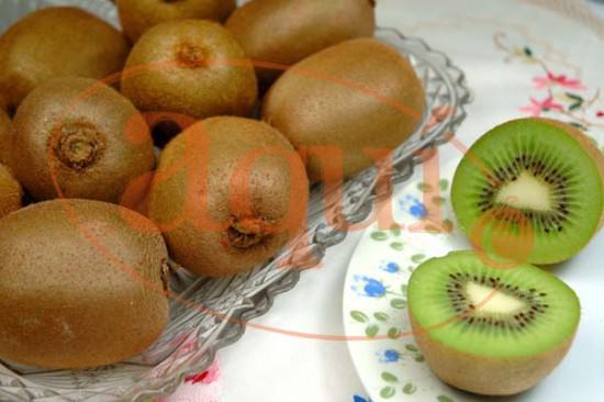 Fruta fresca (kiwis)