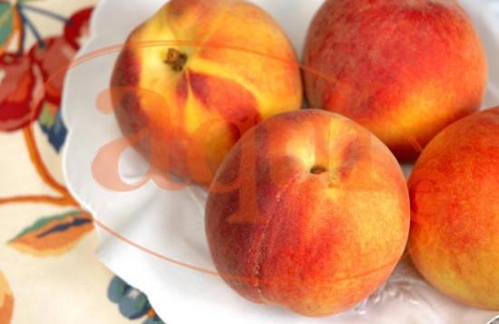 Fruta fresca (melocotón)