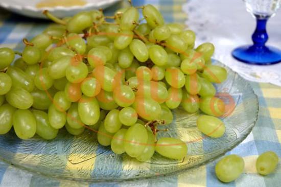 Fruta fresca (uvas)