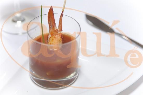 Gazpacho de bogabante