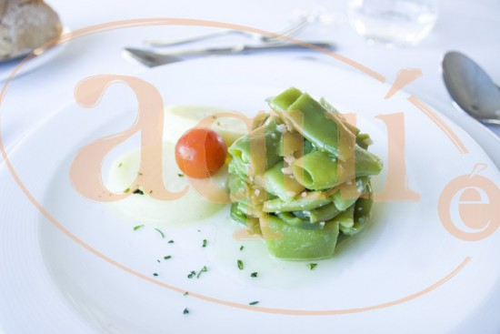 Judías verdes con patata cocida