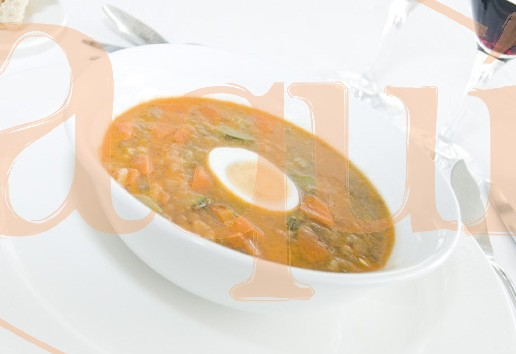 Lentejas estofadas con verduras