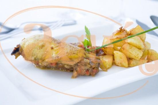 Muslo de pollo al Jerez