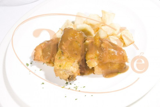 Muslos de pollo al horno con patata