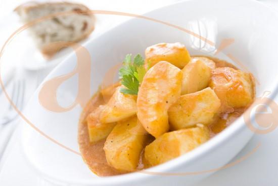 Patatas castellanas